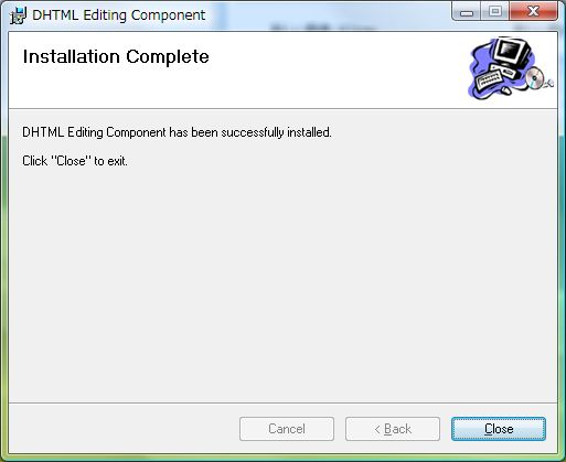 dhtml editing component windows 7 download
